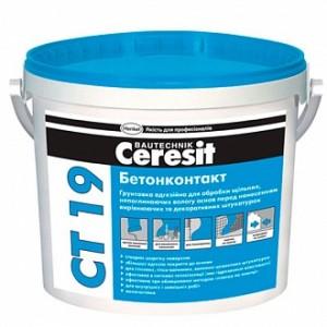 Грунтовка адгезионная Ceresit Бетонконтакт СТ-19 4,5 кг