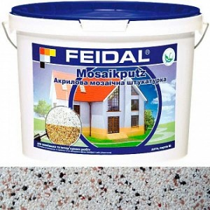 Декоративная штукатурка мозаичная Feidal Mosaikputz mini A10 0,63-2 мм 15 кг