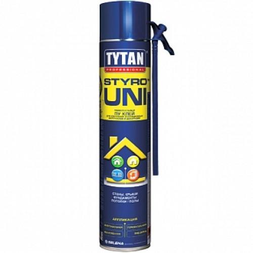 Клей-пена TYTAN полиуретановая Styro Uni 750 мл