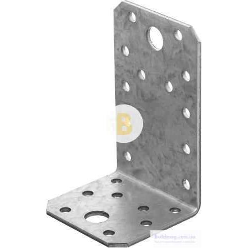 Перфорированный крепежный уголок 90x50x55мм 2,5мм