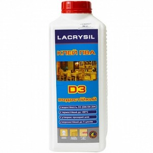 Клей универсальный водостойкий Lacrysil 2 кг