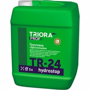 Грунтовка водоотталкивающая Triora TR-24 hуdrostop 10 л