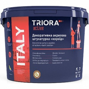 Декоративная штукатурка короед Triora Italy 1-1,5 мм 20 кг