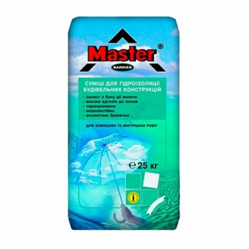 Гидроизоляционная смесь Master ® Барьер 25 кг