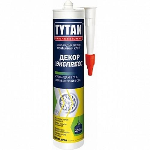 Монтажный клей Tytan Декор Экспресс супер-белый 310 мл