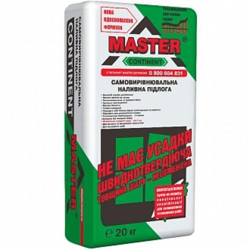 Самовыравнивающийся пол Master ® CONTINENT 20 кг