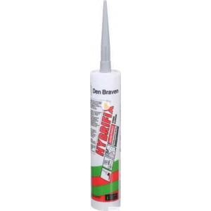 Клей-герметик Den Braven Zwaluw Hybrifix 290мл серый