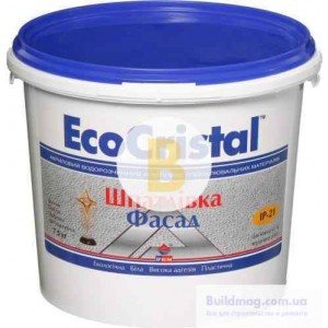 Шпаклевка EcoCristal Фасад ІР-21