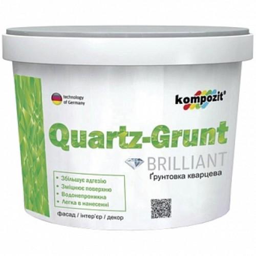 Грунтовка адгезионная Kompozit Quartz-Grunt 7 кг