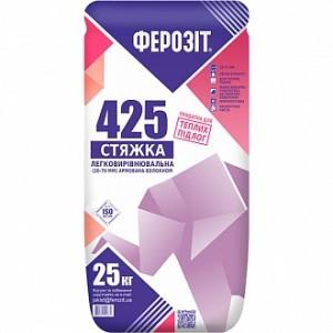 Стяжка для пола Ферозит 425 25кг