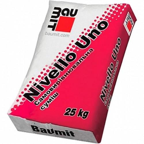 Самовыравнивающийся пол Baumit Nivello Uno 25 кг