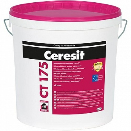 Декоративная штукатурка короед Ceresit CT 175/2.0 25 кг