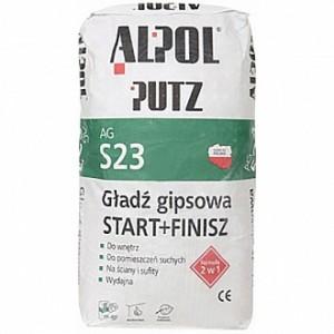 Шпаклевка Alpol 2 в 1 Putz AG S23 10 кг