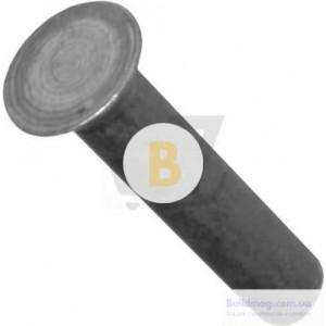 Заклепка ударная под молоток 2х12 мм 25 шт./уп. сталь с потайной головкой