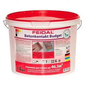 Адгезионная грунтовка Feidal Betonkontakt budget 14 кг