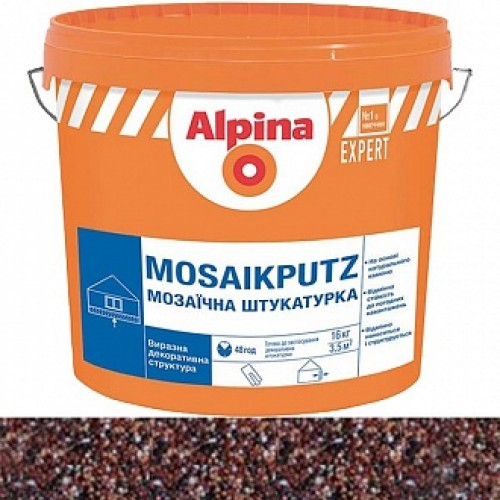 Декоративная штукатурка мозаичная Alpina Expert Mosaikputz 07 1,6-2 мм 16 кг