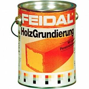 Антигрибковая грунтовка Feidal Holz Grundierung для древесины 1 л