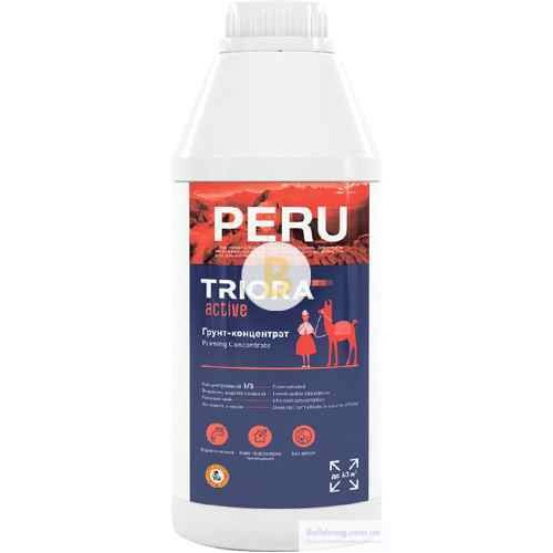 Грунтовка адгезионная Triora Peru концентрат 1:5 1 л