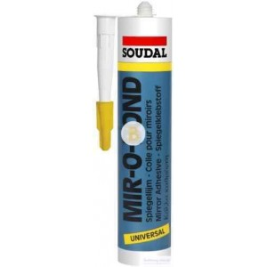 Клей-герметик SOUDAL MIR-O-BOND 310 мл светло-серый