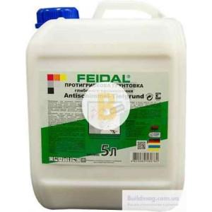 Антигрибковая грунтовка Feidal Antischimmel-Tiefgrund фунгицидная 5 л