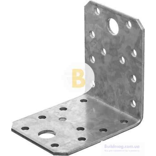 Перфорированный крепежный уголок 70x70x55мм 2,5мм 1 шт.