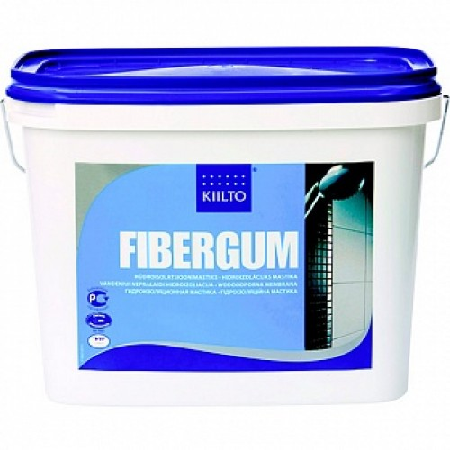 Мастика гидроизоляционная Kiilto Fibergum 7 кг