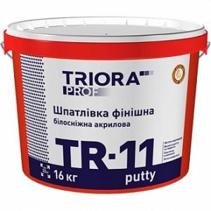 Шпаклевка Triora TR-11 putty белоснежная 16 кг