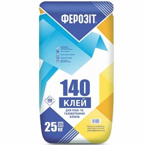 Клей для блоков Ферозит 140 25 кг