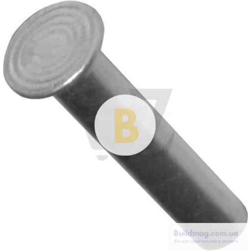 Заклепка ударная под молоток 6х30 мм 5 шт./уп. алюминий с потайной головкой
