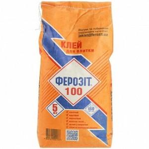 Клей для плитки Ферозит 100 5кг