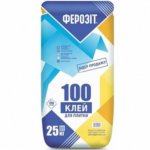 Клей для плитки Ферозит 100 25кг