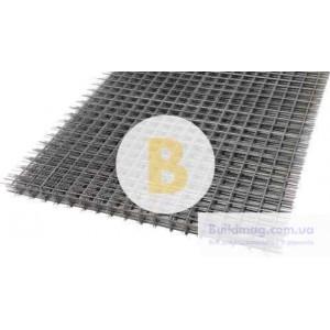 Сетка сварная кладочная 100х100x2,5 мм 1x2 м
