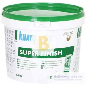 Шпаклевка Knauf SUPER FINISH 5,4 кг