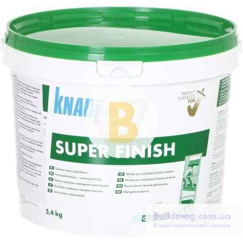Шпаклевка Knauf SUPER FINISH 5,4 кг