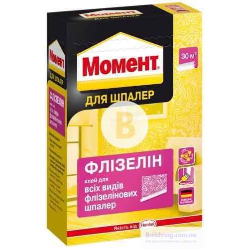 Клей для обоев Момент Флизелин 250 г