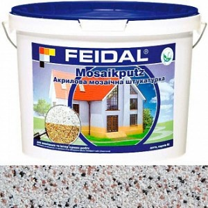 Декоративная штукатурка мозаичная Feidal Mosaikputz mini A12 0,63-2 мм 15 кг