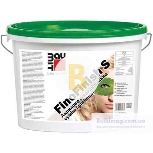 Шпаклевка Baumit Fino Finish S 9 кг