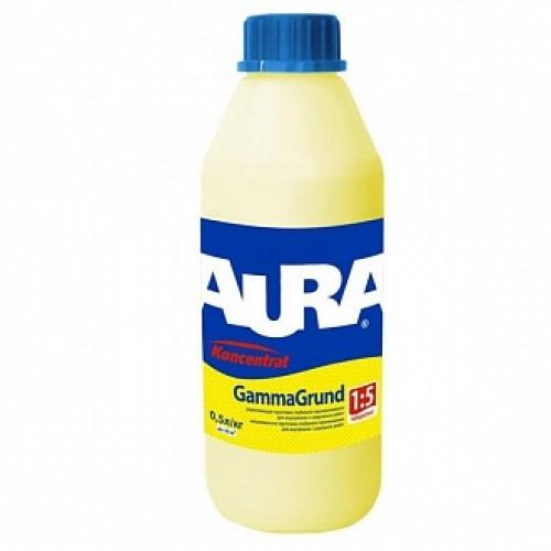 Грунтовка глубокого проникновения Aura Koncenntrat GammaGrund 0.5 л