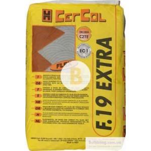 Клей для плитки Cercol F.19 Extra 25кг