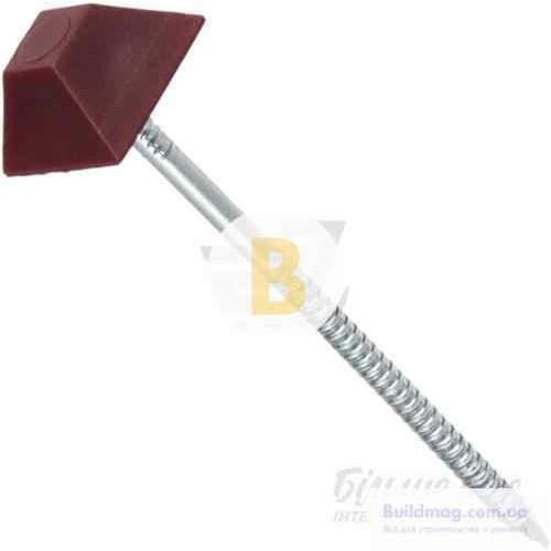 Гвозди с ромбовидной шляпкой 3,2X70 мм 20 шт красные