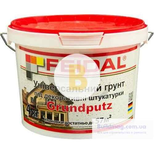 Адгезионная грунтовка Feidal Grundputz 4 кг