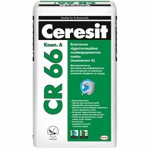 Гидроизоляция Ceresit двухкомпонентная СR 66 17,5 кг + 5 л