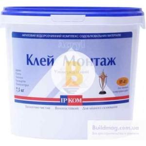 Монтажный клей ІРКОМ ИРКОМ Монтаж 7 кг