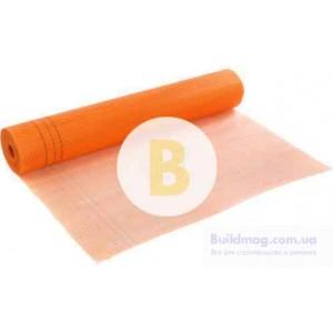 Стеклосетка штукатурная щелочестойкая Works 160 г/кв. м оранжевая