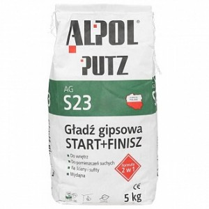 Шпаклевка Alpol 2 в 1 Putz AG S23 5 кг