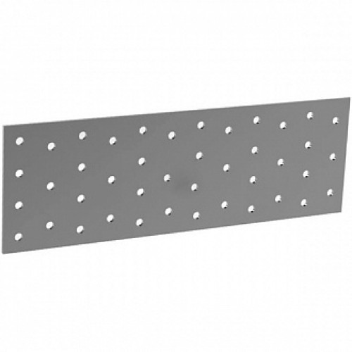 Перфорированная пластина 100x260x2мм