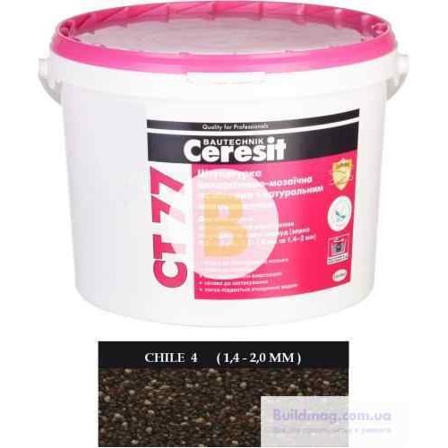 Декоративная штукатурка мозаичная Ceresit CT 77 CHILE 4 1,4-2,0 мм 14 кг