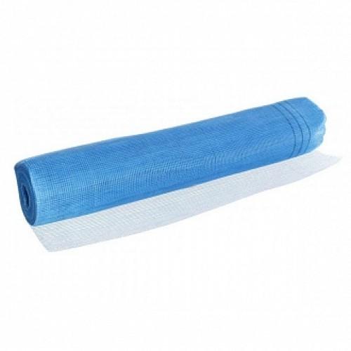 Стеклосетка штукатурная щелочестойкая Works 145 г/кв. м синяя