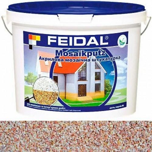 Декоративная штукатурка мозаичная Feidal Mosaikputz mini А13 0,63-2 мм 25 кг