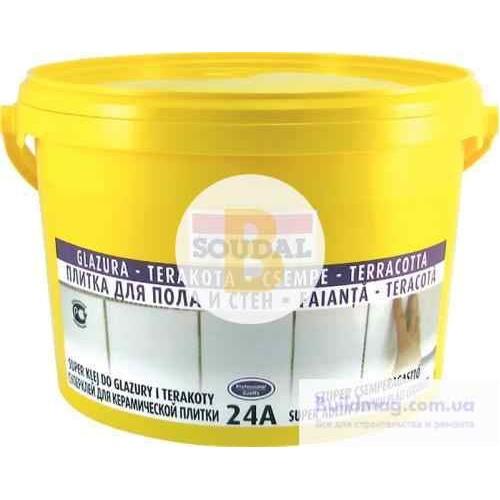 Клей для плитки SOUDAL 24 А 0,3кг